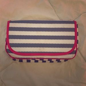 Thirty-One striped makeup bag ✨